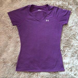 Under Armour | purple t shirt